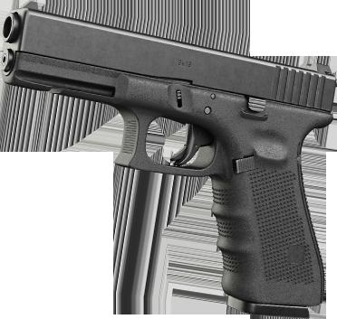Handgun Side View