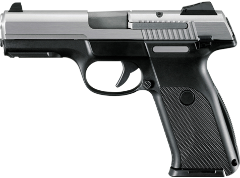 Sideview of A Handgun